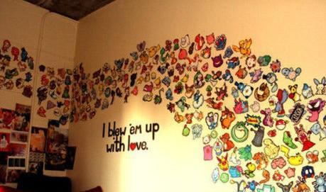 如何自己亲手设计并制作墙绘