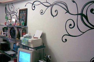 手绘墙可以激发您的宝宝的创造力和想象力