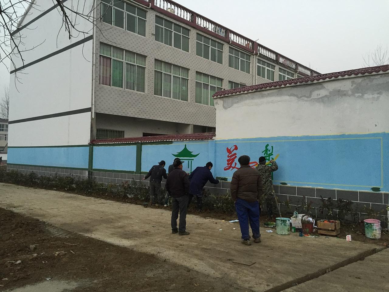 南昌画图,南昌墙壁上画画,南昌墙体彩绘墙绘