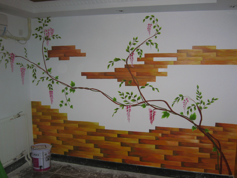 南昌彩绘墙绘,南昌农村外墙绘画,南昌涂鸦墙面