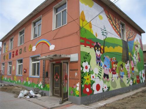 南昌墙绘壁画,南昌幼儿园墙绘画,南昌手绘墙