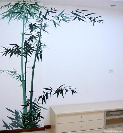 南昌艺术墙绘,南昌画背景墙,南昌手绘墙体绘画