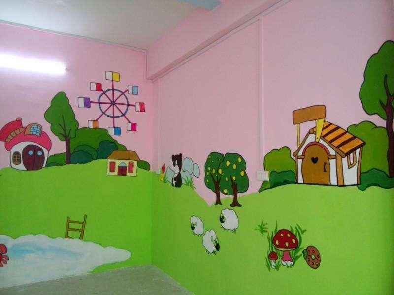 南昌墙画,南昌外墙彩绘,南昌幼儿园外墙彩绘