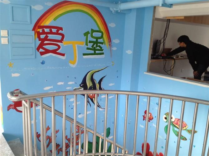 南昌壁画手绘墙,南昌墙体手绘,南昌幼儿园涂鸦