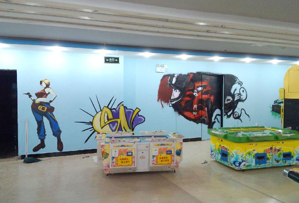 南昌涂鸦墙画,南昌彩绘公司,南昌乡村墙体彩绘