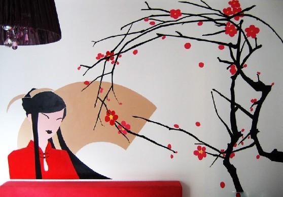 构思手绘墙的选配技巧 如何画写实的构思手绘墙呢?